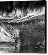 Kellys Wild North Shore Ride Canvas Print