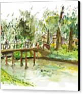 Kerekbrugje Canvas Print
