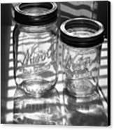 Kerr Jars Canvas Print