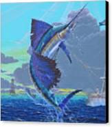 Key Sail Off0040 Canvas Print by Carey Chen