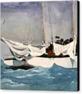 Key West Hauling Canvas Print