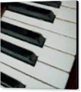 Keys Close Up Canvas Print