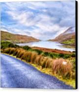 Killary Fjord In Ireland's Connemara Canvas Print by Mark E Tisdale