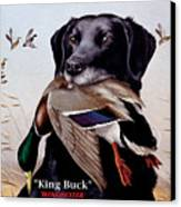 King Buck    1959 Federal Duck Stamp Artwork Canvas Print