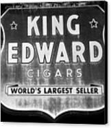 King Edward Cigars Canvas Print