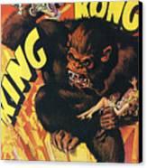 King Kong Canvas Print by Georgia Fowler