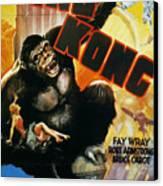 King Kong Poster, 1933 Canvas Print by Granger