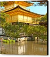 Kinkakuji Golden Pavilion Kyoto Canvas Print