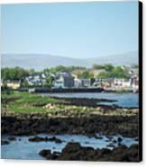 Kinvara Seaside Village Galway Ireland Canvas Print