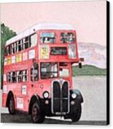 Kirkland Bus Canvas Print