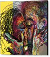Kiss Me You Big Dick Canvas Print