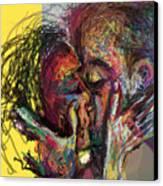 Kiss Me You Big Dick Canvas Print by James Thomas
