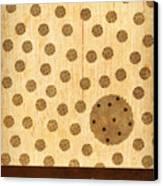 Kitchen Art - Cookie Canvas Print by Linda Tieu