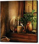 Kitchen - One Fine Evening Canvas Print by Mike Savad