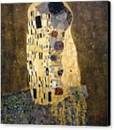 Klimt: The Kiss, 1907-08 Canvas Print by Granger