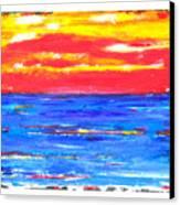 Knife Sky Canvas Print