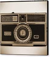 Kodak Instamatic Camera Canvas Print by Mike McGlothlen