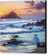 Koki Beach Harmony Canvas Print by Inge Johnsson