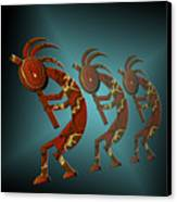 Kokopelli Canvas Print by Carol and Mike Werner