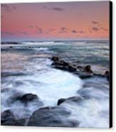 Koloa Sunset Canvas Print by Mike  Dawson
