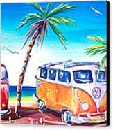 Kombi Club Canvas Print by Deb Broughton