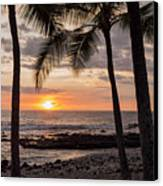 Kona Sunset Canvas Print by Brian Harig