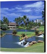 Koolinas 18th Hole Canvas Print by Peter French - Printscapes