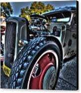 Koolsville Rat Rod. Canvas Print by Ian  Ramsay
