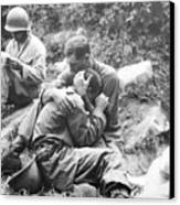 Korean War, 1950 Canvas Print by Granger