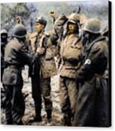 Korean War: Prisoners Canvas Print by Granger