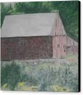 Krashes Barn Canvas Print