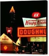 Krispy Kreme Doughnuts Atlanta Canvas Print