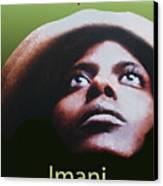 Kwanzaa Imani Canvas Print by Shaboo Prints