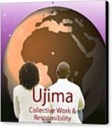 Kwanzaa Ujima Canvas Print