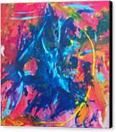 L A  G A R G O L A Canvas Print by Azul Fam