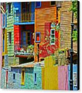 La Boca - Buenos Aires Canvas Print by Juergen Weiss