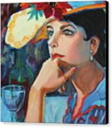La Chapeau Canvas Print