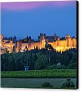 La Cite Carcassonne Canvas Print by Brian Jannsen