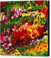 La Fete Au Jardin Canvas Print