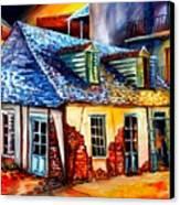 La Fittes Blacksmith Shop Canvas Print