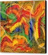 La Fleur Eternelle Canvas Print