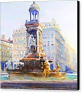 La Fontaine Des Jacobins Canvas Print