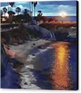 La Jolla Pools Canvas Print