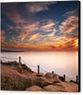 La Jolla Sunset Canvas Print by Larry Marshall