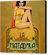 la Matadora Canvas Print