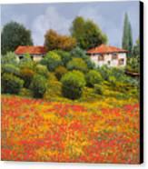 La Nuova Estate Canvas Print by Guido Borelli