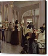 La Patisserie Canvas Print by Jean Beraud