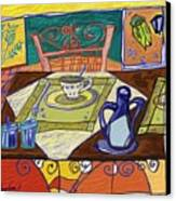 La Taula Canvas Print