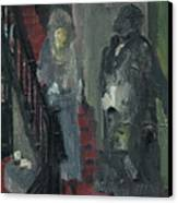 Laboheme Act 1 Stairway Canvas Print