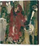 Laboheme Act 2 Cafescene Canvas Print